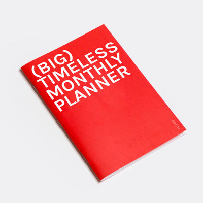 Planificador Timeless Monthly Planner | BIG