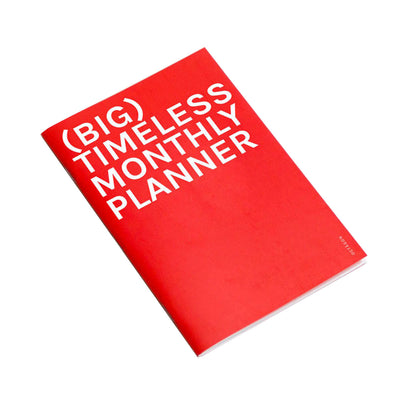 Planificador Timeless Monthly Planner | BIG, Planificadores, Octagon Design - Likely.es