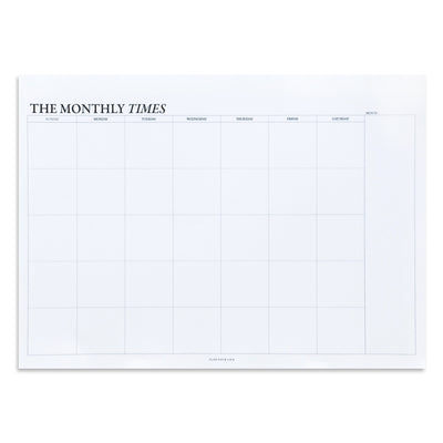 Planner Mensual The Monthly Times Pequeño con Estuche