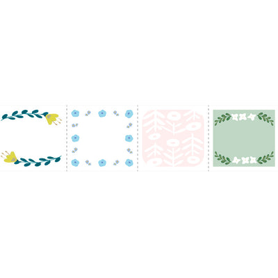 Washi Tape Pre-cortado Monthly | Flower