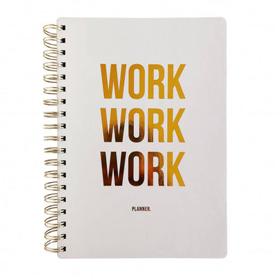Planificador Semanal Work Work Work, Planificadores, Studio Stationery - Likely.es