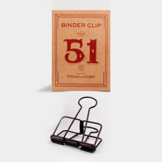 Set de Clips 51 mm | Bronce, Clips, Tools to Liveby - Likely.es