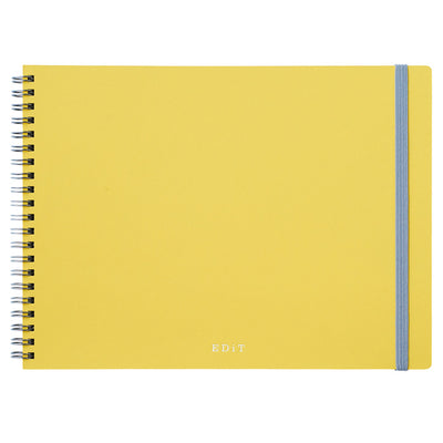 Cuaderno Ideation B5 | Amarillo | Malla de puntos