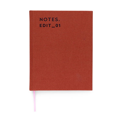 Cuaderno Journal R.P.S A5 | Rust | Hojas Lisas
