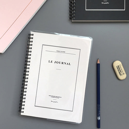 Agenda Le Journal | Varios Colores, Agendas, Seeso Graphics - Likely.es