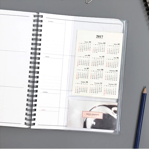 Agenda anual grande This will be my year | Enero a Diciembre 2019