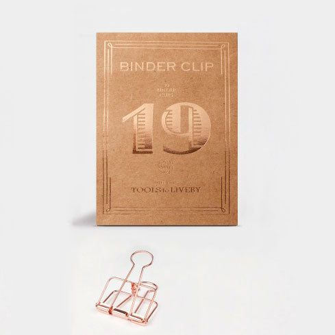 Set de Clips 19 mm | Rose Gold, Clips, Tools to Liveby - Likely.es