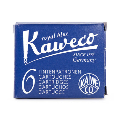 Cartuchos de tinta Kaweco 6 uds | Royal Blue