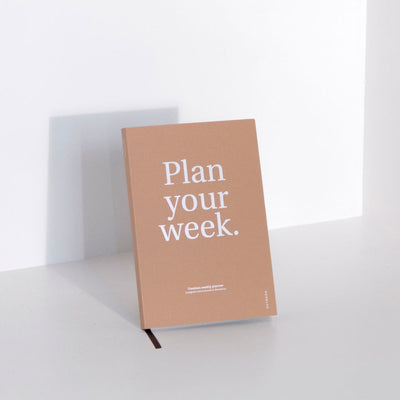 Planificador Semanal Plan your Week | Camel, Planificadores, Octagon Design - Likely.es