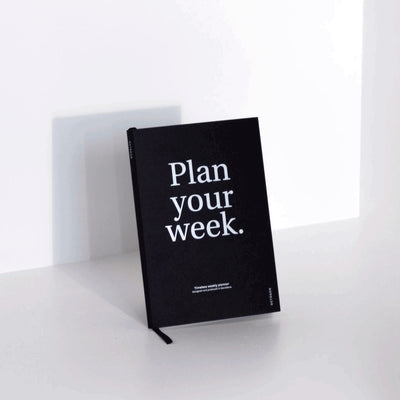 Planificador Semanal Plan your Week | Negro, Planificadores, Octagon Design - Likely.es