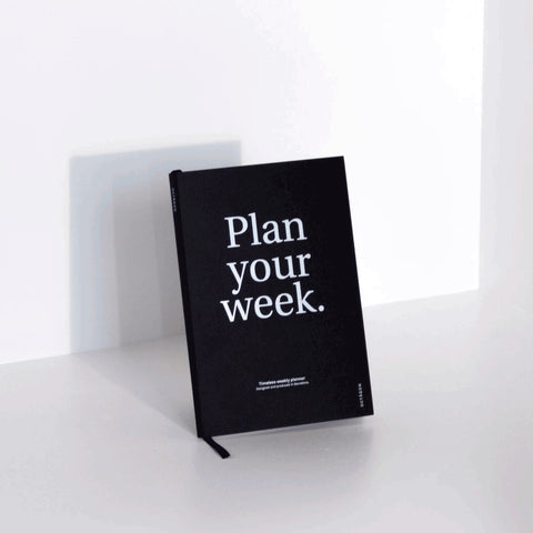 Libreta Planner Mensual The Monthly Times