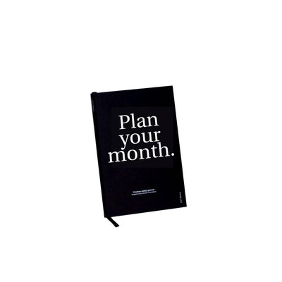 Planificador Mensual Plan your Month | Negro, Planificadores, Octagon Design - Likely.es