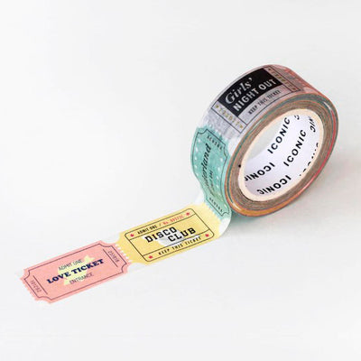 Masking Tape 036 Ticket