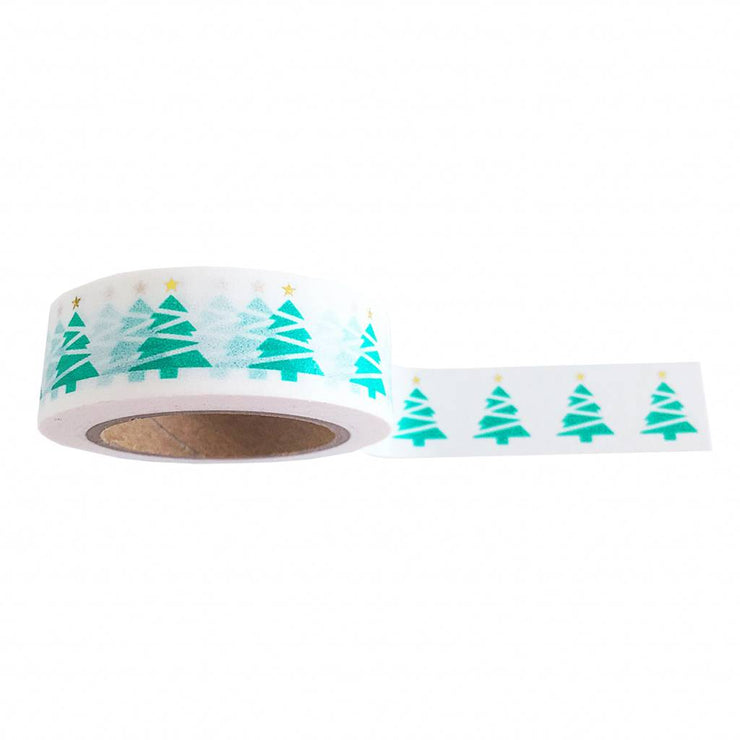 Washi tape Xmas Tree