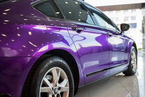Wrap Around Side Molding with Vinyl Wrap Film