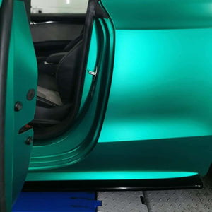 The Proper Sequence to Create Inlays with Vinyl Wrap Film