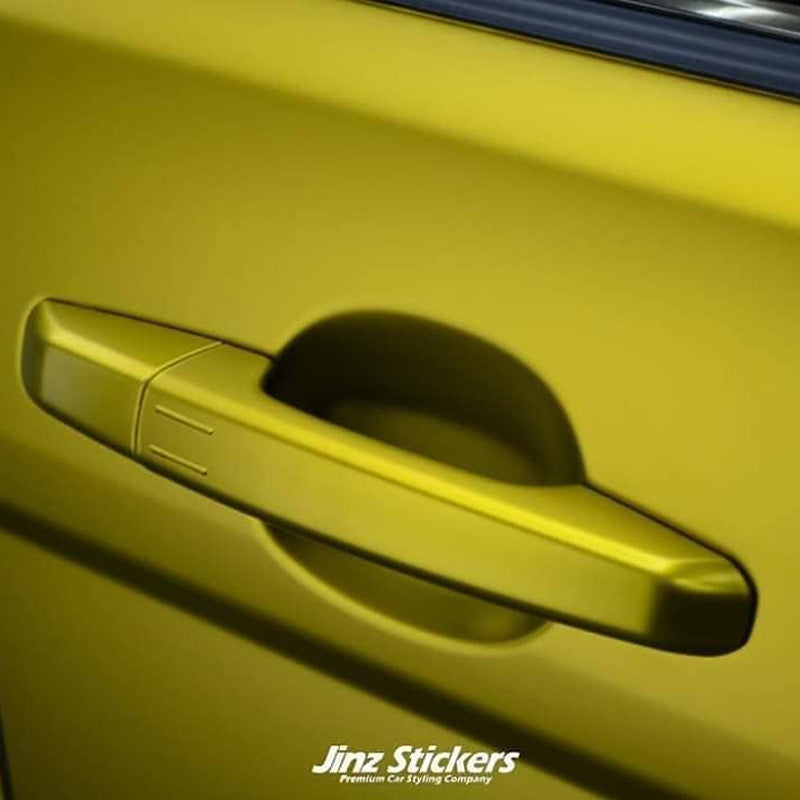 How to Avoid Overstretch on Smaller Side of Door Handle with Vehicle Wraps