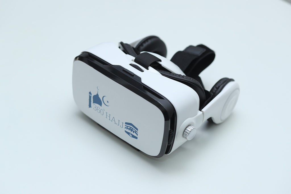 Real-time Hajj Experience package - VR Goggles WITH HEADPHONES, Live Stream of the Hajj, Islamic videos, and More