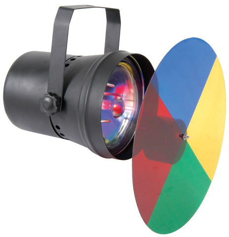 PAR36 SPOT LIGHT WITH COLOUR WHEEL