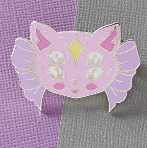 Witches Cat pin