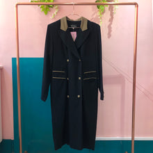 Black Long Line Blazer