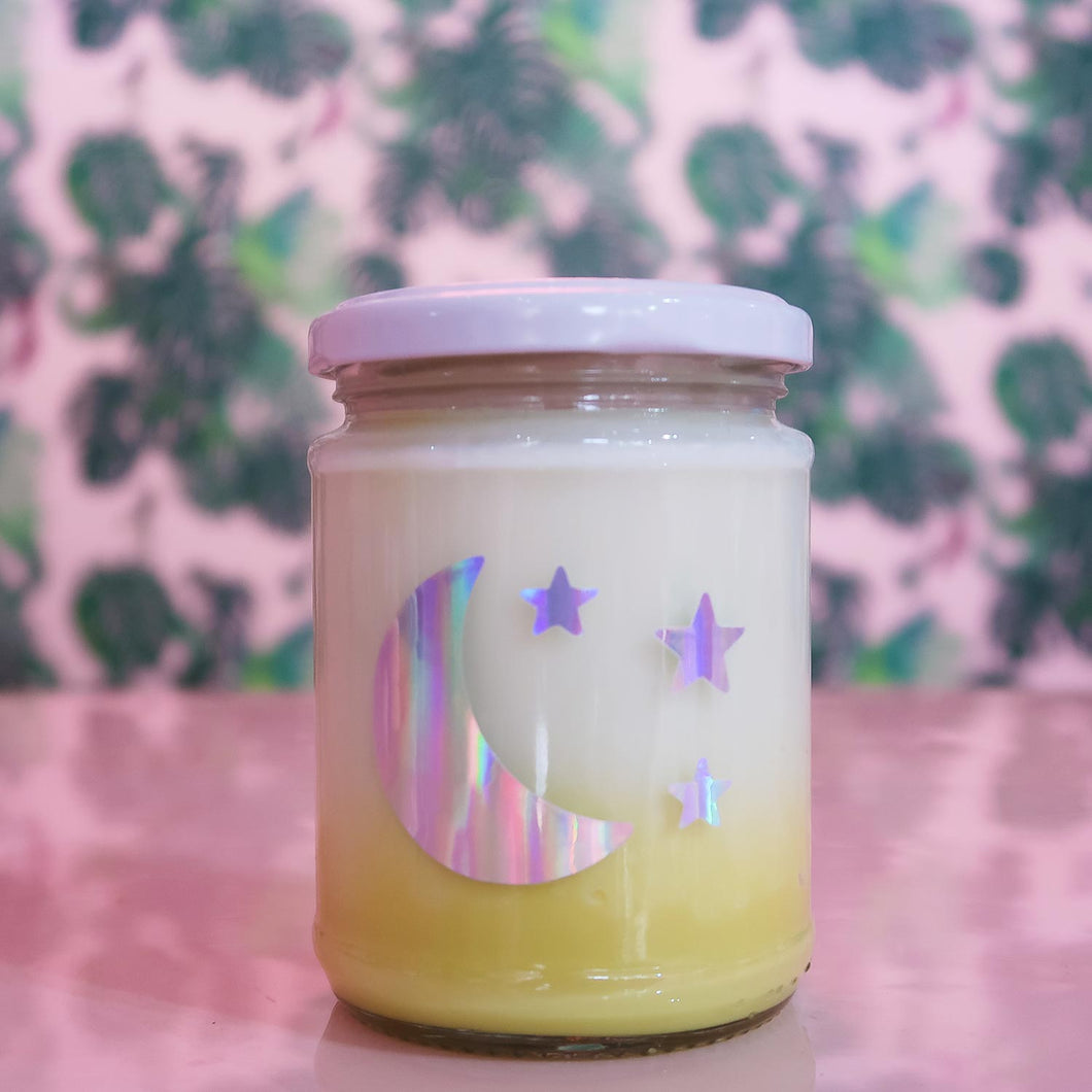 Mango & Dragonfruit Yellow Ombre Candle