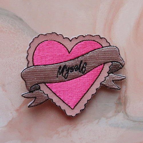 Love Myself Hair Flare & Brooch