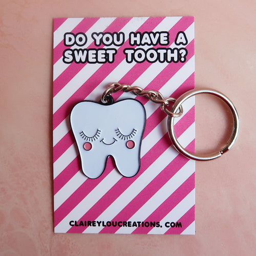 Sweet Tooth Keyring