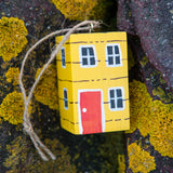 Handcrafted Wooden House Ornaments