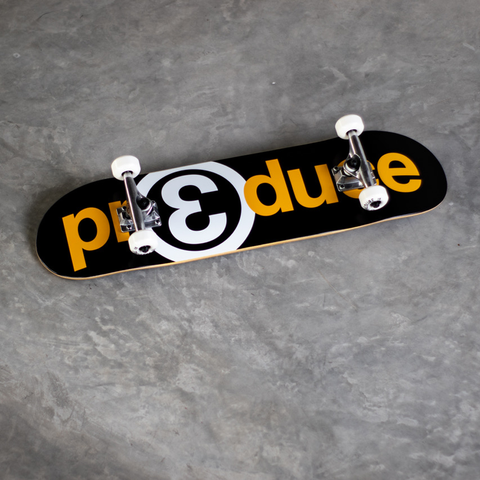 Preduce OG Logo complete black & yellow