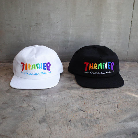 Thrasher hats at Preduce
