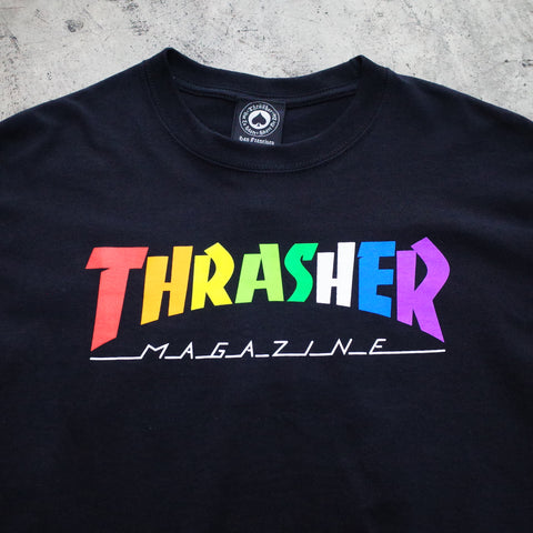 Thrasher rainbow shirt