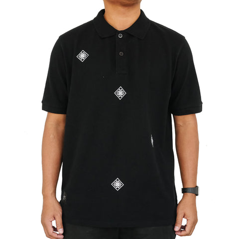Thai Silk polo black