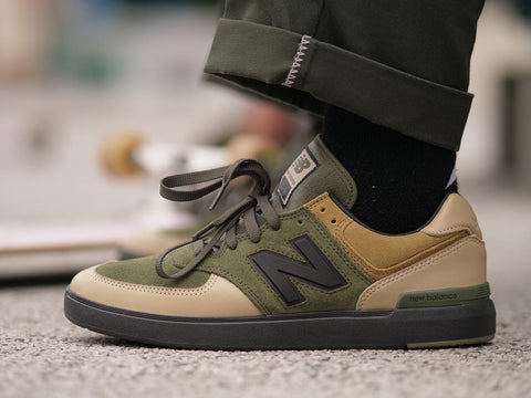 free shipping 9120c 1a9ea New Balance 574 x 8FIVE2 Collab Shoe is Here|รองเท้า Remix ...