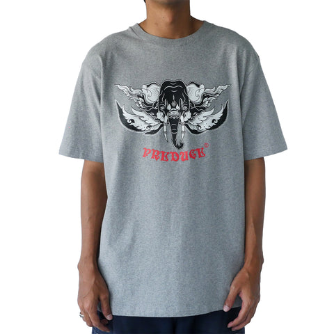 Preduce x TRK Kotchasan T-Shirt Heather Grey