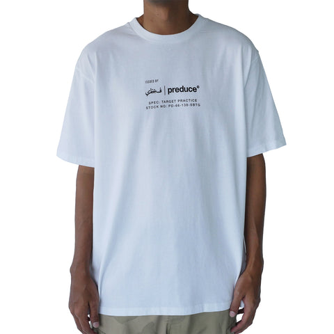 Preduce X SBTG Label T-Shirt White