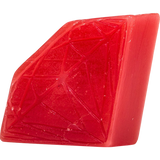 Diamond Brilliant Mini Skateboard Wax Red