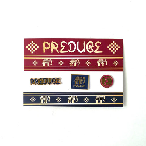Preduce Thai Pillow Pin Set