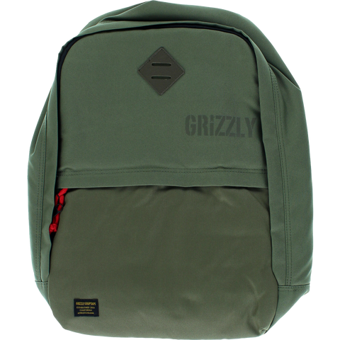 Grizzly Day Trail Backpack Military Green