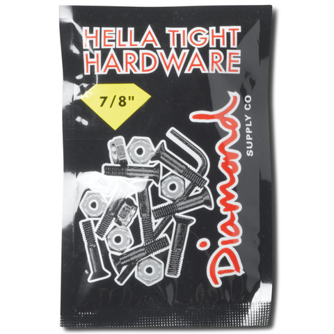 "Diamond Hella Tight Hardware 7/8"" Silver"