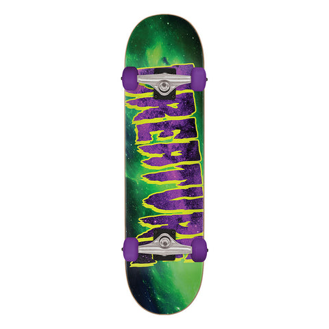 Creature Galaxy Logo Mid Skateboard Complete 7.80 x 31.00