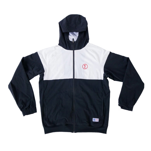 Preduce Windbreaker Jacket Black/White/Red