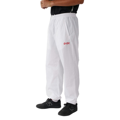 Preduce PRDC Track Pants White/Red
