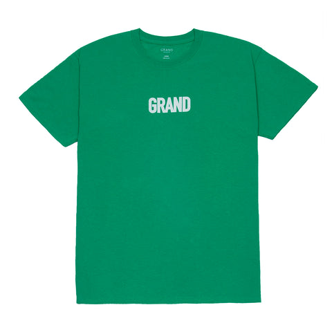 Grand Block T-Shirt Kelly Green