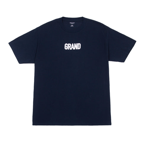 Grand Block T-Shirt Navy