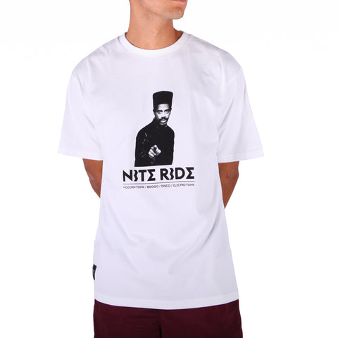 Preduce x Nite Ride T-Shirt White