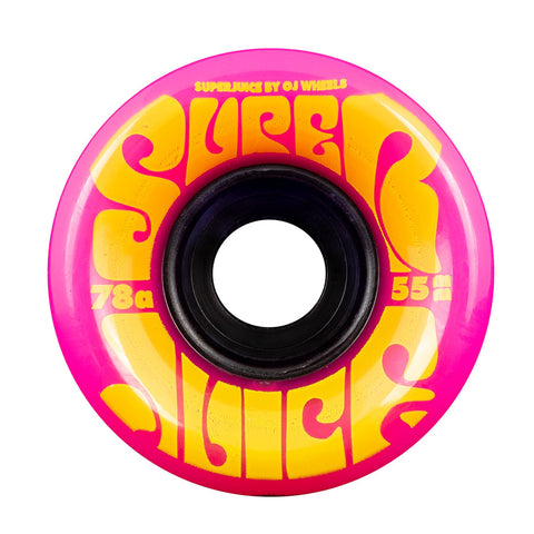 OJ Mini Super Juice Pink 78a Skateboard Wheels 55mm