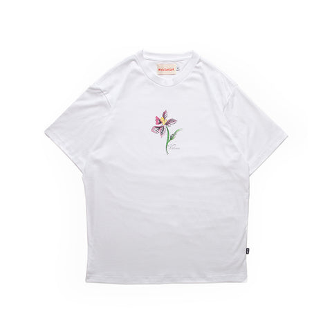 Victoria Orchid T-Shirt White