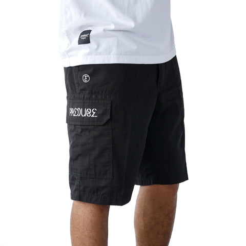 Preduce Cargo Shorts Black