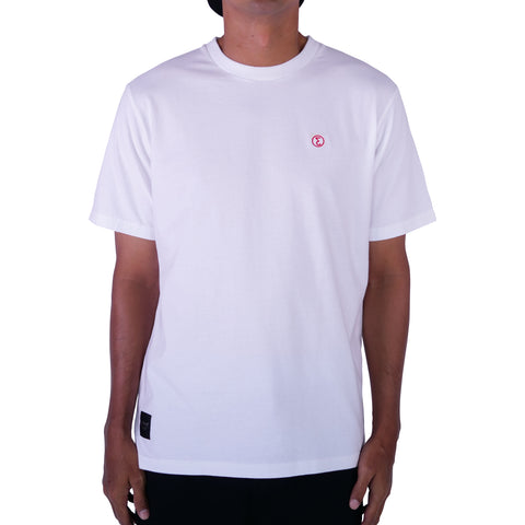 Preduce Small E Embroidered T-Shirt White/Red